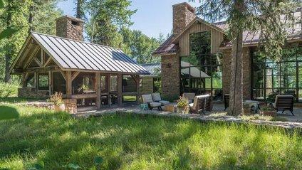 Ідеальний дім біля гір у США - фото 1