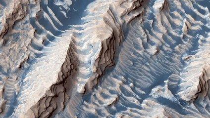 Унікальний кратер на Марсі - фото 1