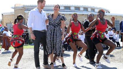 Меган і Гаррі відвідали Південну Африку - фото 1