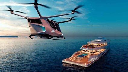 У Монако показали концепт розкішної екологічної яхти - фото 1