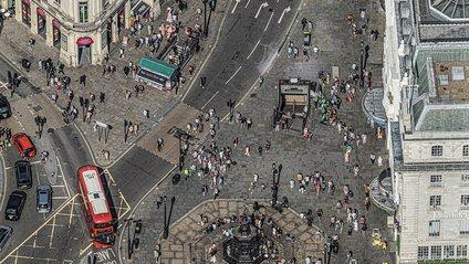 Лондон з висоти пташиного польоту - фото 1
