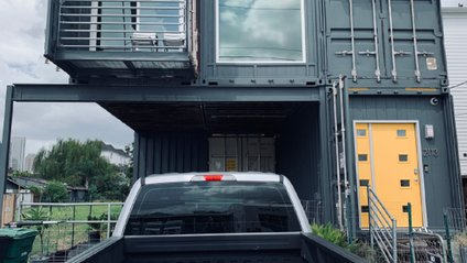 Будинок з вантажних контейнерів - фото 1