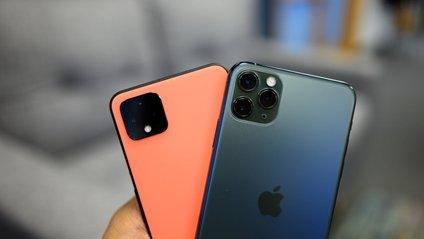 Блогери порівняли швидкість роботи Pixel 4 XL і iPhone 11 Pro Max - фото 1
