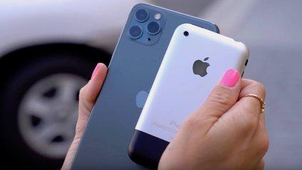 Між смартфонами Apple різниця у 12 років - фото 1