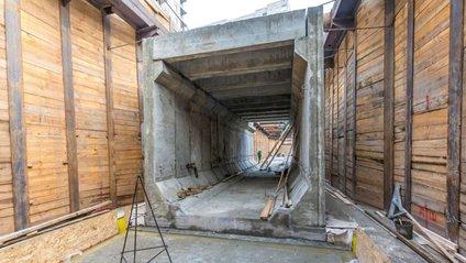 Метро на Виноградар: у мережі з'явилися фото першого тунелю - фото 1