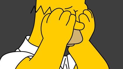 Не будьте такими сумними, як Гомер Сімпсон на цій картинці - фото 1