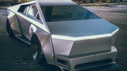 Тюнінгований Tesla Cybertruck - фото 1