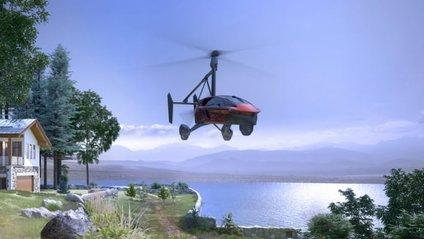 У США представили прототип літаючого автомобіля - фото 1