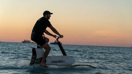 Водяний електричний велосипед Hydrofoiler XE-1 - фото 1