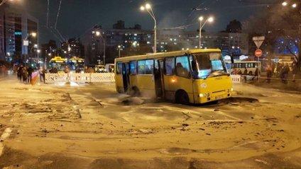 Ocean Plaza в Києві залило окропом - фото 1