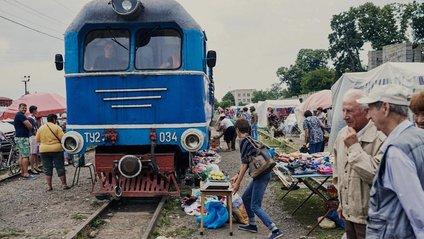 Як виглядає ринок на Закарпатті, крізь який проходить поїзд: фото - фото 1