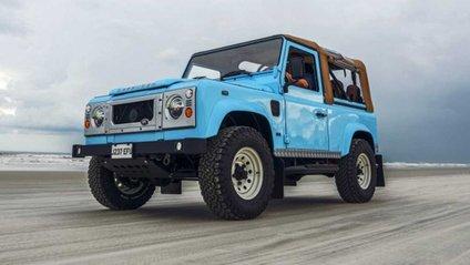 Автолюбителі переробили Land Rover в пляжний баггі: відео - фото 1
