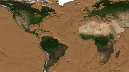 Науковці показали, як виглядатиме Земля без води - фото 1