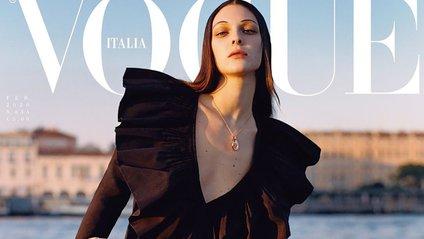 Vogue Italia розмістили на обкладинці банківський рахунок для допомоги Венеції - фото 1