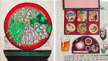 Японець намалював всі страви, які з'їв за останні 30 років: фото - фото 1