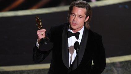 Бред Пітт отримав Оскар 2020 - фото 1