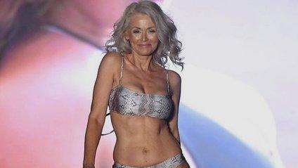У США 56-річна жінка вразила журі дефіле у бікіні: спокусливі фото - фото 1