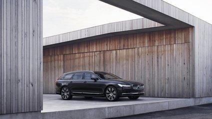 Оновлені Volvo V90 отримали низку змін - фото 1