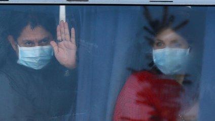 Евакуйовані українці - фото 1
