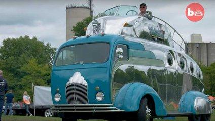 У мережі показали найнезвичайніший двоповерховий автобус - фото 1