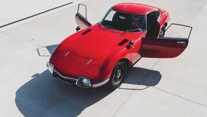 Toyota 2000GT випускали у 60-х роках минулого століття - фото 1