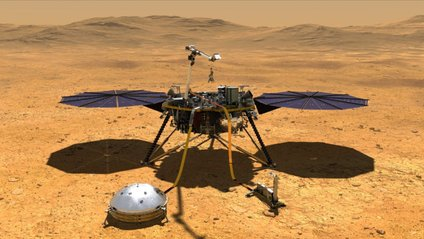 Марс і InSight - фото 1