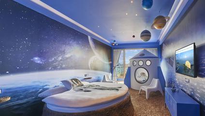 Космічний номер готелю відрізняється від звичайних - фото 1