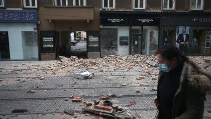 Столицю Хорватії сколихнув потужний землетрус - фото 1