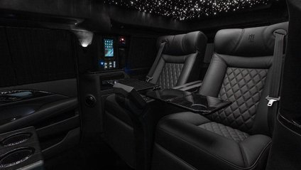 Cadillac Escalade перетворили на люксовий кабінет на колесах - фото 1