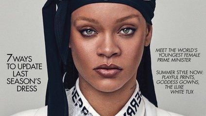 Rihanna знялась для британського Vogue - фото 1