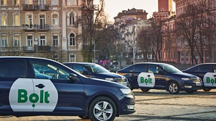 У Bolt з'явилися авто з перегородками між водієм і пасажирами - фото 1