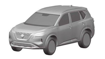 """У мережу """"злили"""" ескізи оновленого Nissan X-Trail - фото 1"""