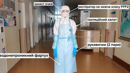 У МОЗ показали, яким має бути захист медсестер: відео - фото 1