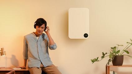 Пристрій не лише очищає повітря, а й нагріває його - фото 1