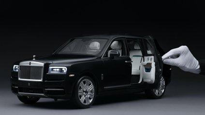 Іграшковий Rolls-Royce Cullinan майже не відрізняється від оригіналу - фото 1