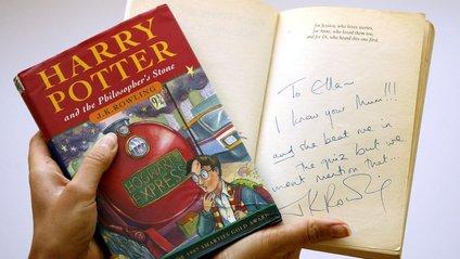Книжку про Гаррі Поттера випадково знайшли на смітнику - фото 1