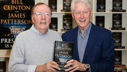 Білл Клінтон і Джеймс Паттерсон - фото 1