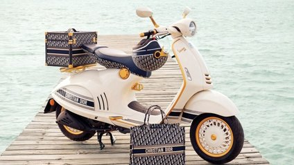 Vespa і Dior вирішили об'єднатися - фото 1