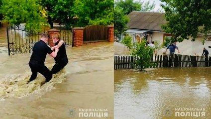 Поліція допомагає рятувати людей і тварин - фото 1