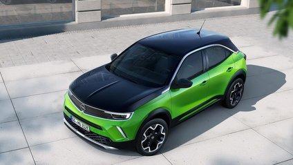 Усього представили три версії Opel Mokka - фото 1