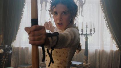 Міллі Боббі Браун знялась у ролі сестри Шерлока Холмса - фото 1