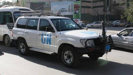 Очевидець зняв на відео секс в автомобілі ООН - фото 1