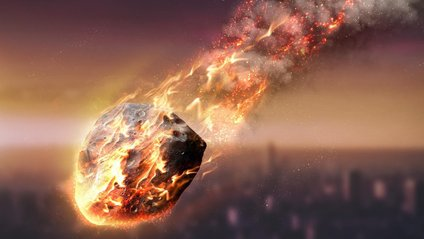 Над Токіо вибухнув астероїд - фото 1