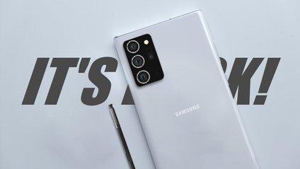 З'явився відеоогляд Samsung Galaxy Note20 Ultra - фото 1