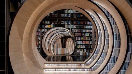 Ця пекінська книгарня вражає своїм дизайном - фото 1
