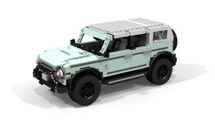 Ford Bronco з Lego - фото 1