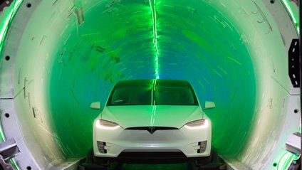Тунель компанії The Boring Company - фото 1