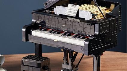 LEGO випустить зменшений рояль, на якому можна зіграти: відео - фото 1
