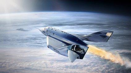 Virgin Galactic показала інтер'єр туристичного космоплана: відео - фото 1