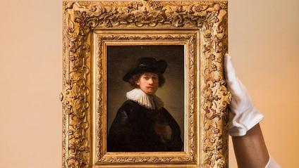 Автопортрет Рембрандта продали за рекордну ціну - фото 1